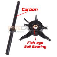 Free Shipping V911 Upgrade Spare Parts Stable V911 V911-1 Carbon Main Shaft + Fish Eye Swashplate for wholesale