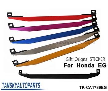 Tansky - SUB-FRAME LOWER TIE BAR REAR FOR EG (Silver,Golden,Purple,Blue,Red,black) gift Original Sticker TK-CA1789EG