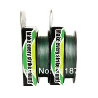Wholesale - 300yards (250m )6LB10LB15LB20LB30LB40LB50LB65LB80LB100LB green  braided fishing line dyneema free shipping