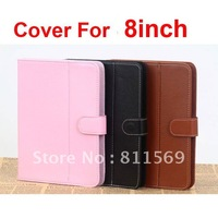 Free shipping Universal 8inch cover for 8inch tablet pc