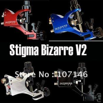 Latest Style Stigma Bizarre V2 Rotary Tattoo Machine Gun 6 Colors Assorted Tattoo Kits Supply