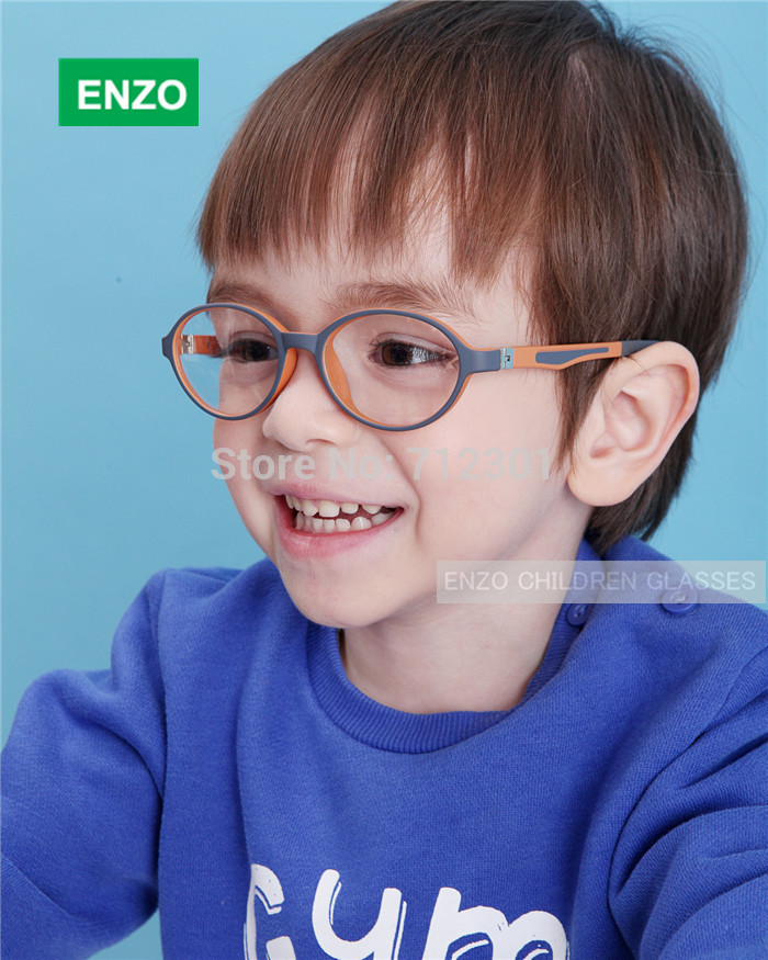 Boys Optical Glasses, Girls Eyeglasses Silicone TR90 Double Layers, Spring Hinge Bendable Children Glasses Frame(China (Mainland))