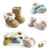 Retail 3 Colours Winter Snow Boots Girls Fashion Toddler  Boots Soft Bottom Shoe LittleSpring GTJ-X0052