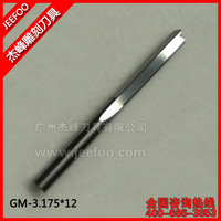 3.175*12 Carbide Cutting Tools For Plywood MDF/CNC Router Cutting Tools /CNC Blade