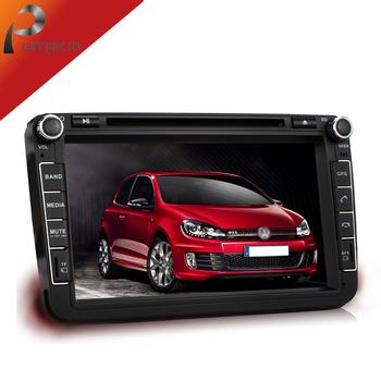 Universal Autoradio Headrest 2 Din GPS Car Mp3 DVD Player Styling  For VW Jetta Passat Golf 5  6 Tiguan,W/Bluetooth+Radio+Canbus