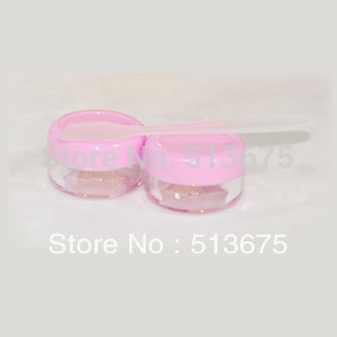 Free shipping 50pcs/lot 5g cosmetic container,PS jar,cream jar,Cosmetic Jar,Cosmetic Packaging