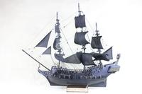 hot sales ! 80CM The Black Pearl DIY model kit wooden ship model