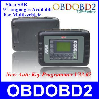 Universal Silca SBB Key Programmer V33/V33.02 Support 9 Languages Work for Multi-Brand Car Auto key Programmer Key Immobilizer