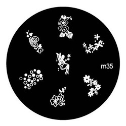 30pcs/lot QA F M-Series High Quality Film Nail Art Stamping Image Plate topwin(China (Mainland))