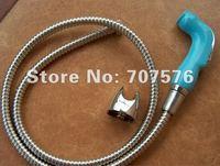 Handheld Bidet / Portable bidet  Diaper Sprayer Shattaf TS078L-Br-SET Shattaf head+braided hose+bracket+fitting parts
