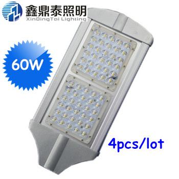 60W Led Street Light outdoor lighting lamps luster aluminium profile led street light AC85-265 2years warranty led street light