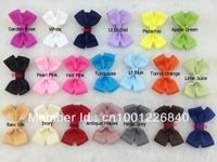 100pcs/lot 20colors,2 inches,hair accessories,ribbon clip,hair bow