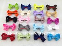 100pcs/lot 8cm,Hot Sale ,Infant/Baby/Girl Hair Clip ,.Ribbon Hair clip.Wholesale