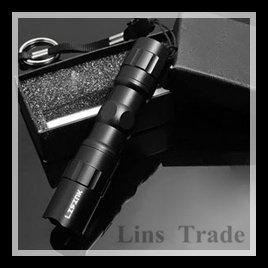 Free shipping New mini LED flashlight light small waterproof belt key chain lamp #8192