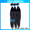 "Best quality Malaysian virgin hair extension straight machine weft 12""-28'' promotion 3bundles/lot fast free shipping"