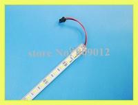 LED cabinet light aluminum LED rigid light bar jewelry light hard strip SMD 5050 LED rigid strip DC12V 100cm 60led free shipping