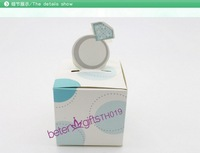Free Shipping 60pcs Engagement Ring Wedding Favor Box candy, mints, dates box for wedding or party decoration TH019