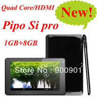 2013 new, Pipo S1 Pro Tablet PC RK3188 Quad Core 1.6GHz 7 inch HD Screen 1GB RAM 8GB WIFI HDMI Dual Camera + External 3G Modem