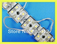LED light module 5050 LED module light waterproof LED lighting module for channel letter DC12V 4 led 0.96W free shipping