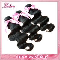 5 star unprocessed virgin hair extension 3pcs 4pcs malaysian virgin hair body wave human hair weave bundles Lavera hair products