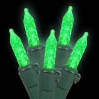Holiday Sale Free Shipping 10 PCS UL 110V 7M 70L Green Christmas M5 LED Icicle Lights