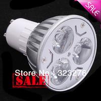 100pcs/lot Free Shipping Wholesales HIGH POWER indoor lighting spot light bulb LED GU10 3W LED SPOTLIGHT lights 3w LED BULB Gu10