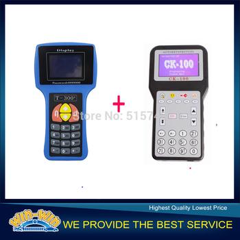 Promotional Discount ! English Language T300 Key Programmer V14.02 & CK100 Key Programmer