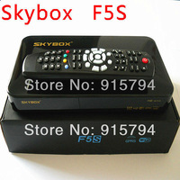 free shipping hd full 1080p Skybox F5S f5 Satellite Receiver Dual-Core CPU with VFD Display tv receiver support usb wifi gprs g1