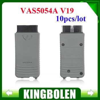 2014 Multi-language VAS 5054A Scanner V19 VAS5054 with Bluetooth vas5054a for VW skoda seat 10pcs/lot