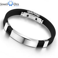Fashion Men Bracelets & Bangles Jwelry Bracelet Men Cuff Bracelet Bangles Stainless Steel Bracelet(JewelOra BA100618)