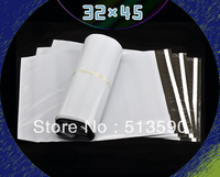 New Year Promotion!32cm x 45cm Mailing Postal Parcel Bags/courier bag White bag super-sealing 5000