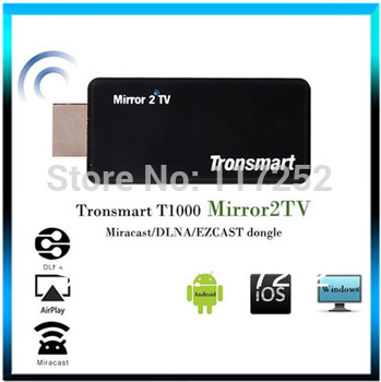 Tronsmart T1000 Miracast dongle Mirror2TV Wireless Display HDMI adapter / DLNA / EZCAST beyond chromecast