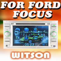 WITSON Special Car DVD Player With GPS For FORD KUGA Sliver Panle+3G---Sliver Frame Green Light Version