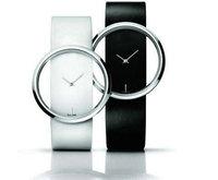 hot sale 2014 new arrival Exquisite hollow dial casual watch women men ladies fashion dress quartz wrist watch