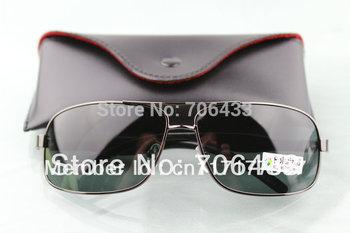 Free dropshipping  Men's Sports Polarized Glasses Retro w/ Alloy Frame Rectanglar PR1