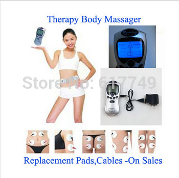 NEW 2014 Good quality!!!!Tens Body/Acupuncture/Digital Therapy Machine Massager electronic pulse massager health care equipment