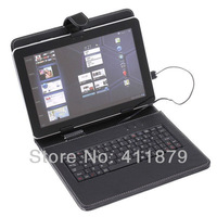 Fedex or DHL Free Shipping 9.7 inch Tablet Mini Micro USB 2.0 Keyboard Leather Case