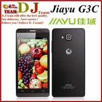 Original JIAYU G3C G3 Mobile Phone WCDMA 3G 3000MAH MTK6582 Android 4.5'' Gorilla Glass Jiayu G3S / G3T