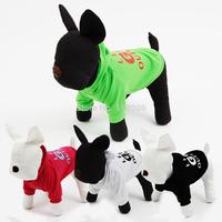 Pets Dog Clothes 2014 New Dog Clothes Summer/Autumn Fleece Dog Hoodie  Cheap Dog  Clothes Multicolors Size S/M/L/XL/ XXL