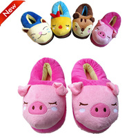 Hot sale! 2013 new fashion gift cartoon all-inclusive cotton-padded at home slippers indoor winter women shoes keep warn