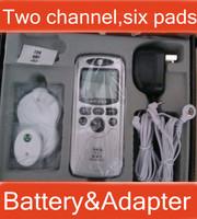 Dual Input Slim Massager,Digital Therapy Machine ,TENS Body Massager Muscle stimulator