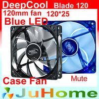 120mm, 12cm fan, cooling fan, Blue light, computer case, CASE Cooler, PC CASE Fan, computer case Radiator, DeepCool Blade 120