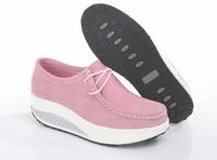 sponge cake platform shoes women's shoes genuine leather fashion shoes new leather shoes