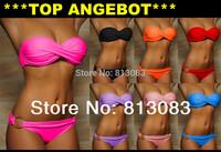 Summer Sexy Bikini Women Swimwear Fashion Occidental Secret Beach Swimsuit Seven Colors S M L #PQ040