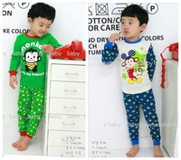 2013 new babys clothing cotton boys clothing girls clothing monkey children's clothes baby sets underwear free shipping