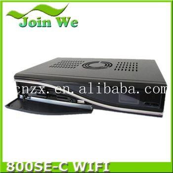 DM800se cable version sim 2.10  DVB  Dm800 hd se receiver(dvb-C tuner)+Sim2.10+Enigma2  hd pvr support wifi DHL free shipping