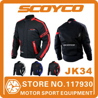 2014 Scoyco JK34 Motorcycle Clothing Protective Racing Jacket Sports Motorbike Safety Waterproof Warm Winter Wear Free Shipping