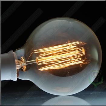 Freeshipping 6pcs/lot antique edison transparent decoration incandesent bulb wholesale long-life classical E27 220V 40w lamp