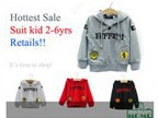 Momo -- Retails Children t-shirts long sleeve, autumn tees, cartoon, one piece retails, free shipping(China (Mainland))