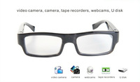 2014 new style undectable lens eyewear glasses camera 1280x720P HD video recorder mini camera hidden camera